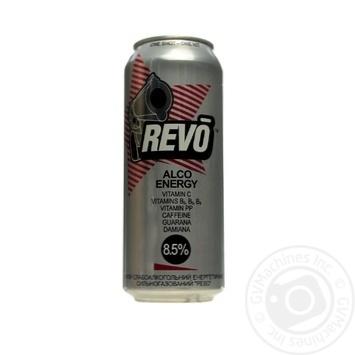Напиток слабоалкогольный энергетический Рево 8.5%об. 500мл