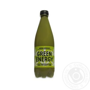 Напиток энергетический Green Energy сильногазированный 0,5л