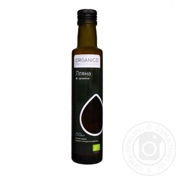Масло Organico льняное нерафинированное органическое 0,25л