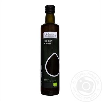 Олія Organico лляна нерафінована органічна - купити, ціни на Ашан - фото 1