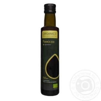 Масло Organico рыжиковое нерафинированное органическое 0,25л