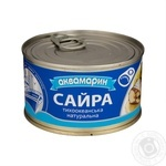 Fish saury Akvamaryn with addition of butter 230g