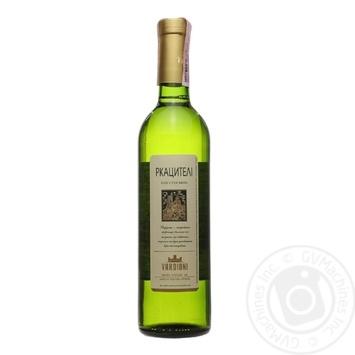 Вино Vardiani Ркацителі біле сухе 0,75л - купити, ціни на Ашан - фото 3