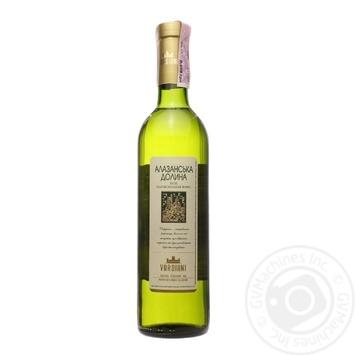 Вино Vardiani Алазанська долина ординарне біле напівсолодке 9-13% 0,75л