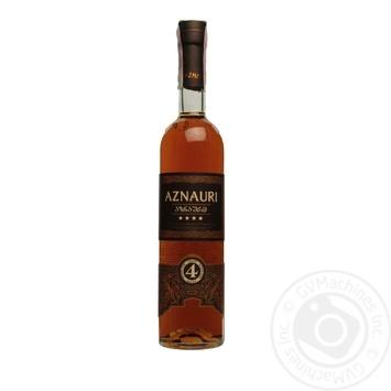 Aznauri Ukrainian Cognac 4 stars 40% 0,5l