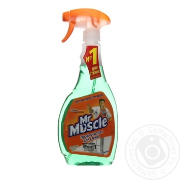 Средство Мистер Мускул для мытья стекол с нашатырным спиртом 500мл