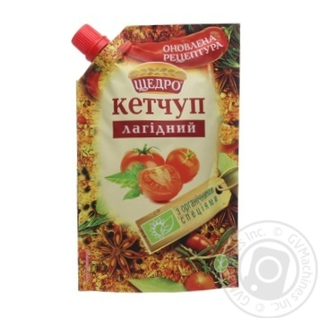 Schedro Lagidnyj Ketchup 200g - buy, prices for Novus - image 1