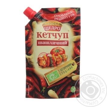 Кетчуп Щедро Шашлычный 200г