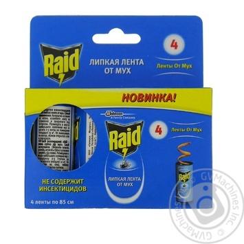 Липкая лента Raid против мух - купить, цены на Novus - фото 6