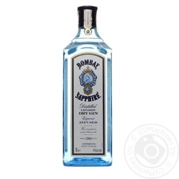 Bombay Sapphir Distilled London Dry Gin - buy, prices for Novus - image 1