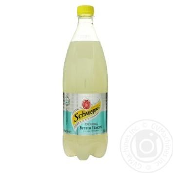Напиток Schweppes Original Bitter Lemon сильногазированый 1л