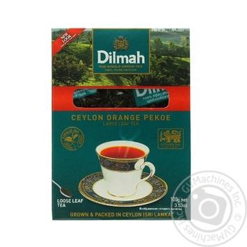 Чай Dilmah крупнолистовой черный 100г