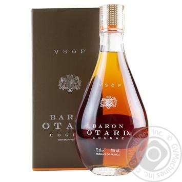 Коньяк Baron Otard V.S.O.P. 40% 0.7л - купить, цены на МегаМаркет - фото 6