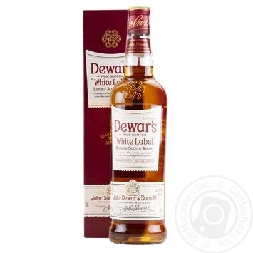 Виски Dewar's Design White Label 40% 0,7л