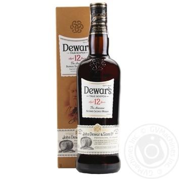 Виски Dewar's The Ancestor 12 лет 40% 0.7л - купить, цены на Фуршет - фото 1