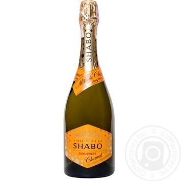 Вино игристое Shabo белое полусладкое 0,75л - купить, цены на Таврия В - фото 1