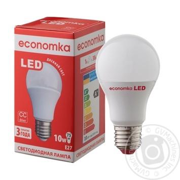 Лампа светодиодная Economka LED A60 10W E27 4200K