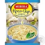 Крем-суп Мивина с вермишелью и сыром моцарелла 57.5г - купить, цены на Novus - фото 1