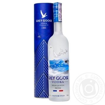 Grey Goose Vodka in box 0,75l - buy, prices for Novus - image 1