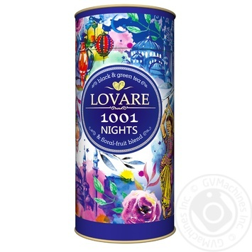 Lovare 1000 And 1 Night Black Tea - buy, prices for Novus - image 1