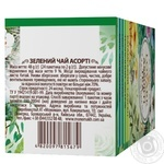 Lovare Assorted green tea 4 types *6pcs*2g - buy, prices for MegaMarket - image 2