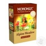 Чай Мономах Alpine Meadow смесь травяного цветочного и плодово-ягодного чая 70г