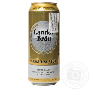 Landerbrau Beer strong in tin can 4.9% 0,5l - buy, prices for MegaMarket - image 1