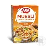 Muesli Axa oat honey 375g cardboard box