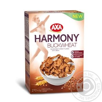 Хлопья гречнево-пшеничные Axa Harmony 270г