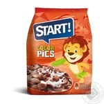 Сухие завтраки зерновые Start Cocoa pics 500г
