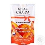 Мыло жидкое Vital Charm Апельсин 500мл - купить, цены на Фуршет - фото 1