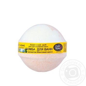 Dolce Vero Mango Mousse Bath Bomb 75g - buy, prices for Furshet - image 1