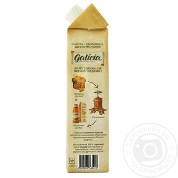 Сок Galicia яблочно-тыквенный с мякотью 1л - купить, цены на Novus - фото 2