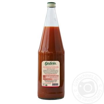 Galicia tomato juice with salt 1l glass - buy, prices for Auchan - image 2