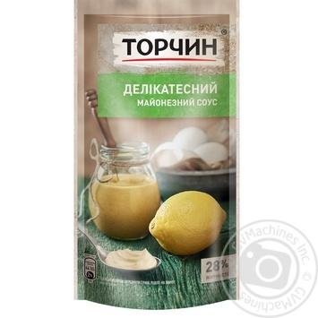 Майонезный соус ТОРЧИН® Деликатесный 160г - купить, цены на Novus - фото 1