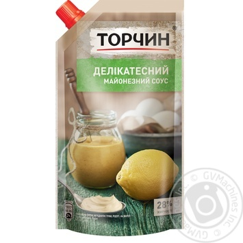 TORCHYN® Delikatesniy mayonnaise sauce 300g - buy, prices for Novus - image 1