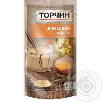 TORCHYN® Domashniy mayonnaise 160g - buy, prices for Novus - image 1
