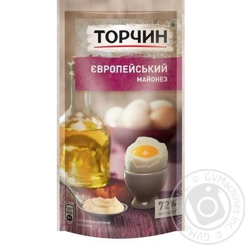 TORCHYN® Europeiskiy mayonnaise 160g - buy, prices for MegaMarket - image 1