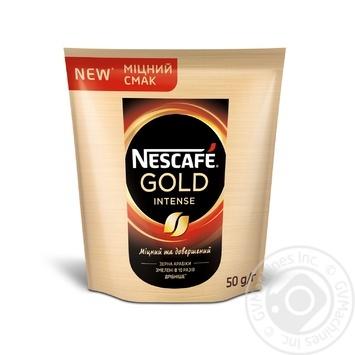 Кофе Nescafe Gold Intense растворимый 50г