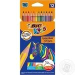 Карандаши BIC Evolution Stripes 12шт