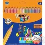 Карандаши цветные Bic Evolution Kids 24шт