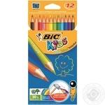 Карандаши цветные BIC Kids Evolution 12шт
