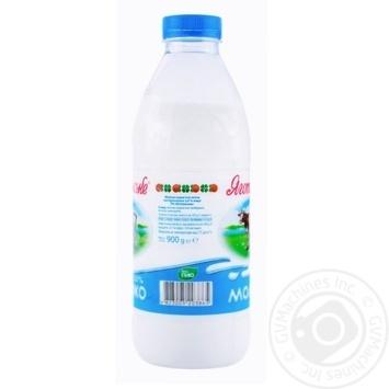 Молоко коров'яче питне пастеризоване 2.6% Яготинське 900г - купити, ціни на Восторг - фото 2
