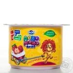 Йогурт Лактель Локо Моко клубника обогащенный кальцием омегой 3 и витамином D 1.5% 115г