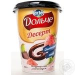 Dolce with chocolate and kiwi dessert 3.4% 400g
