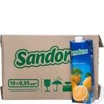 Нектар Sandora лимонный 0,95л опт*10шт