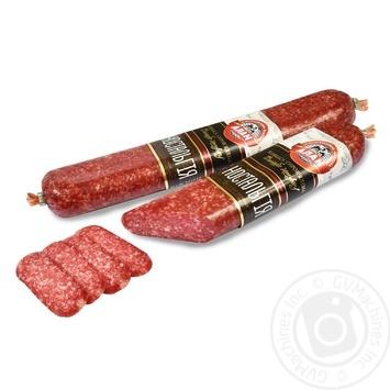 Колбаса Алан Ностальгия сыровяленая в/с - купить, цены на Novus - фото 1