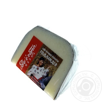 Cheese Dobra ferma hard 45% Ukraine