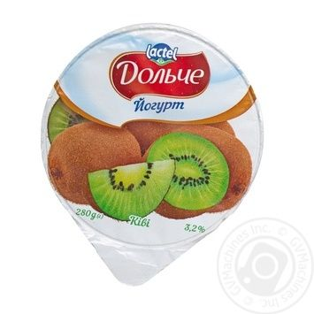 Dolce kiwi fruit yogurt 3.2% 280g - buy, prices for Furshet - image 3