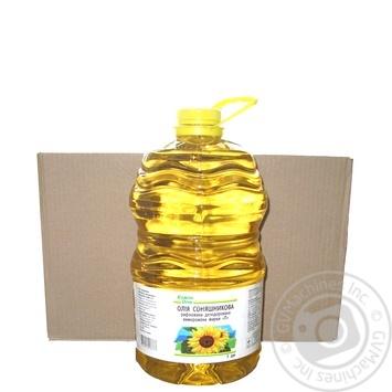 Oil Auchan Kozhen den sunflower refined